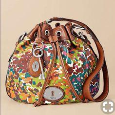 Fossil Maddox Bucket Bag