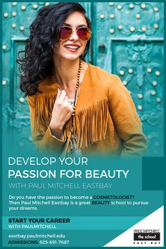 Do you have the passion to become a #cosmetologist?  Then Paul Mitchell Eastbay is a great #beauty school to pursue your dreams.