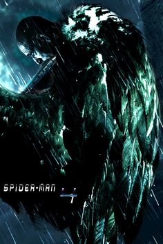 Spider-Man 4 The Vulture (Adrian Toomes) as John Malkovich Marvel Villains, Marvel Comics, Vulture Images, Vulture Marvel, Max Movie, Villain Names, Spider Man 2, Black Canary, Amazing Spider