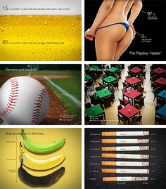 Illustrated Graphs - Presentation on Behance