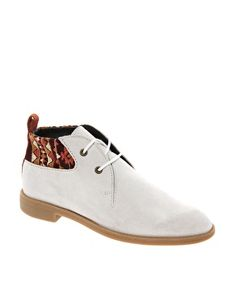 Image 1 of Swear Vienetta 4 Off White Lace Up Ankle Boots