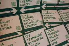 Walk [Your City] Campaign Lets City Dwellers Encourage Walking with Guerrilla Wayfinding Signs