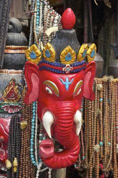 Mask of Ganesha, a Hindu God