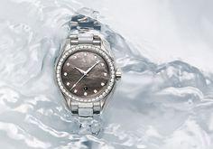 @omegawatches sorprende con nueva #colección Seamaster Aqua Terra 150M Ladies' Collection.