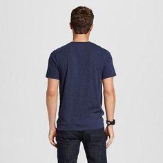 Men's V-Neck T-Shirt Navy (Blue) Voyage Xxl - Mossimo Supply Co.