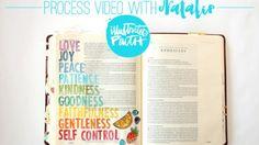 Natalie Elphinstone | Fruits of the Spirit Process Video
