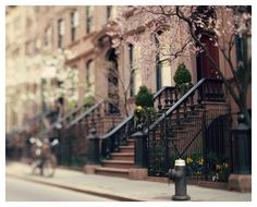 Brownstones = my obsession. #NYC