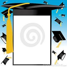 free graduation border clip art borders for graduation borders rh pinterest com Graduation Clip Art Backgrounds graduation cap border clip art