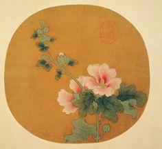 宋人, 芙蓉, Hibiscus, Anonymous, Song dynasty (960-1279)