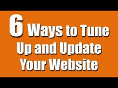 6 Ways to Update Your Website (for musicians, authors, artists) Your Website, Indie Music, Your Music, Bob, Author, Marketing, Tips, Bucket Hat, Writers