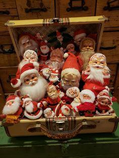 Vintage Christmas Photos, Vintage Christmas Ornaments, Retro Christmas, All Things Christmas, Christmas Time, Christmas Crafts, Santa Christmas, Christmas Shopping, Christmas Gift Decorations