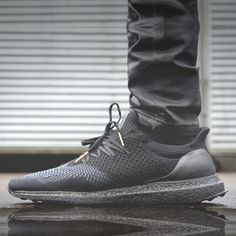 """info for 5a24b f838e Adidas Ultra Boost """"Blackout"""" Custom via Modern Notoriety.More sneakers  here. Mens"""