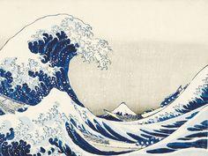 The Great Wave of Kanagawa // Katsushika Hokusai // 1832 Katsushika Hokusai was a Japanese artist, ukiyo-e painter, and printmaker from the Edo period of the and century. Hokusai is a world-renowned artist, No Wave, Great Wave Off Kanagawa, Art Mural Japonais, Painting Frames, Painting Prints, Paintings, Bel Art, Canvas Wall Art, Canvas Frame