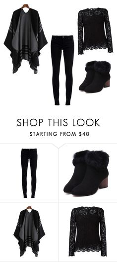 """""""inverno"""" by bianca-b-santos on Polyvore featuring Superfine and Dolce&Gabbana"""