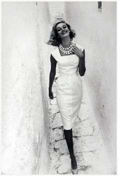 1961 Norman Parkinson fashion photography