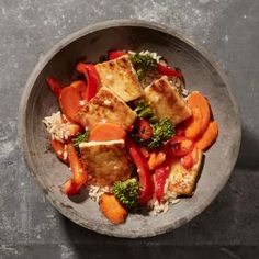 Sweet and Sour Tofu-