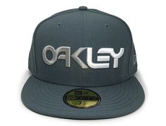 Factory Orion Blue 59Fifty Fitted Baseball Cap by OAKLEY x NEW ERA