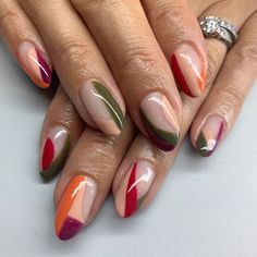 50 Cool Nail Designs for Almond Shaped Cool Nail Designs for Almond Shaped Nails fallnaildesignstips▷ ideas for pointed nails - framing and designfrench nails round ideas rainbow colorful design colorful colors on the Nail Design Stiletto, Nail Design Glitter, Stiletto Nails, Nails Design, Coffin Nails, Pointed Nails, Cute Nails, Pretty Nails, Hair And Nails