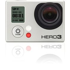 The GoPro HERO3: Black Edition Camera is smaller and lighter than its predecessor. It's also Wi-Fi enabled. The HERO3 is designed for recording action sports and it comes with a rugged housing that is waterproof down to a depth of 197' (60 m). The camera captures 4K Cinema, 2.7K Cinema, 1440p and Full HD 1920 x 1080p video. It also captures 960p, 720p and 480p video as well. Plus, it supports NTSC and PAL, and it can record up to 240 fps. For still images, the HERO3 supports 5, 7 and…