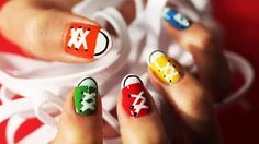 Nails when I  did my nails like this I loved them :) :) !!!!