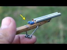 Diy Discover How to Make a double canion Mini Rifle Awesome Woodworking Ideas, Woodworking For Kids, Woodworking Logo, Woodworking Joints, Woodworking Patterns, Woodworking Workshop, Woodworking Techniques, Woodworking Crafts, Woodworking Tutorials