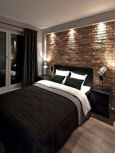 You Have Rustic House? Want to decorate your bedroom with Rustic style? Here you can pick hundred Ideas of Rustic Bedroom. From Farmhouse Rustic Bedroom, Country Rustic Bedroom, Bohemian Rustic Room to Modern Rustic Bedroom. Mens Room Decor, Cool Room Decor, Home Decor Bedroom, Modern Bedroom, Rustic Bedrooms, Bedroom Ideas, Bedrooms For Men, Men Decor, Master Bedroom