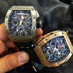 Richard Mille RM-11 titanium and rose gold