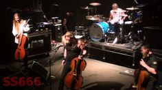 Apocalyptica - The Tivoli, Brisbane - 27 Feb 2015 FULL SHOW--I THINK IT'S HILAROUS THE WAY PERTTU ALWAYS STARS OUT IN LONG SLEEVES AND ENDS UP HALF NAKED! HA!/ WELL EICCA CAN'T SPEAK ENGLISH VERY GOOD BUT SEEMS LIKE HE CAN SING IT!
