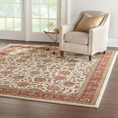 home decorators collection courtyard cream 8 ft x 10 ft area rug - Home Decorators Rugs