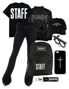 """""""Purpose Stadium Tour"""" by xxnewyorkcitylifexx ❤ liked on Polyvore featuring The Seafarer, Casetify, Material Girl, white, black, JustinBieber and purpose"""