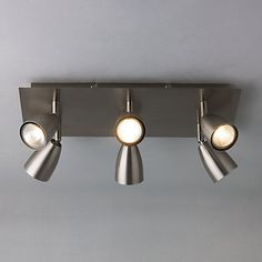 Buy John Lewis Thea 6 Spotlight Ceiling Plate Online at johnlewis.com Alternative to kitchen spot lights