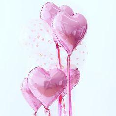 Herzen gehen doch immer oder? Genau wie Punkte ... und Sterne ... und Streifen... Puh wie gut dass wir auch wirklich ALLE Luftballon Varianten im Shop haben #luftballonliebe #luftballons #partydeko #partydeco #rosa #herzen #ihavethingswithpink #abmlifeiscolorful #geburtstag #geburtstagsgeschenk #familie #bloggingmom #kindergeburtstag #hochzeitsdeko #pastel l #minidrops