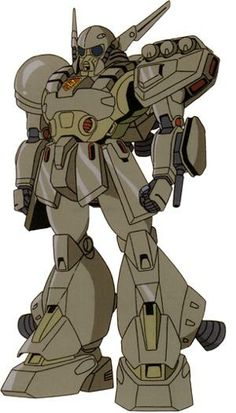 The XM-02 Den'an Gei is a mobile suit from the Mobile Suit Gundam F91 movie.
