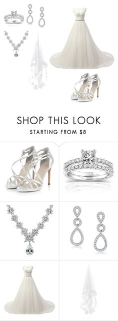 """""""wedding day"""" by merayt0701 ❤ liked on Polyvore featuring Annello, Icz Stonez and Bling Jewelry"""