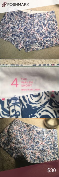 """Brand new """"the Walsh short"""" Lilly Pulitzer Never worn, still has tags! Lilly Pulitzer Shorts"""