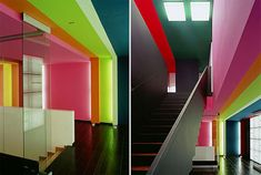 SIMPLY HOUSE DESIGN: Office Interior with Varians Color ( Advertising Agency in Panama )