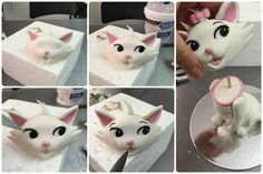 Early last year a friend of mine asked me to make them a cake topper so that they could place it on top of a cake they were making for their auntie. Their auntie loved cats and so they asked me to make one of the cutest cats ever - Marie. At that time I had just…