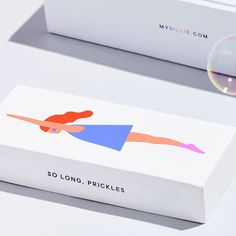minimal packaging with charming illustration
