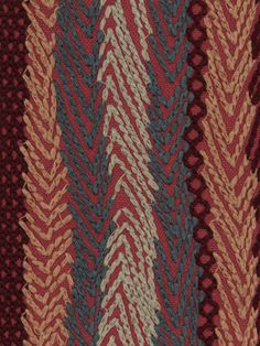 Zigzag Rows fabric from Robert Allen