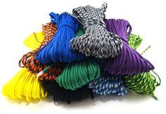 Oso Grande stocks over 40 different colors of genuine 550lb test military paracord made by a certified US government contractor. This parachute cord is the real thing! Perhaps one of the most useful components of a survival kit. Can be used in an emergency to build shelter, or for a multitude of other uses. Buy genuine G.I. 550 cord now!