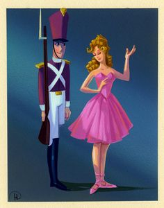 Character Designs from Fantasia 2000 - The Steadfast Tin Soldier