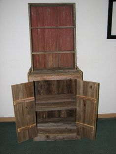 Barn Wood Cupboard