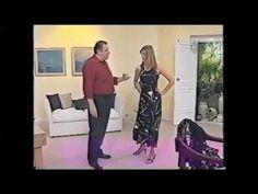 Puntos y Puntadas 39. Vestido Español con Godets. Moldería. Hermenegildo Zampar. - YouTube