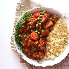 I've been cooking Moroccan vegetarian stews for many years. This one has chickpeas, potatoes, & warm spices. A keeper!