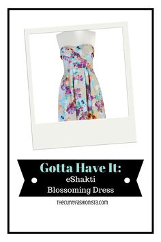Gotta Have It: eShakti Blossoming Dress