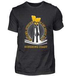 TAUCHSHIRT TAUCHEN SUNSHINE COAST T-Shirt Utila, Ushuaia, Vanuatu, Waimea Bay, Perth, Monterey Bay, Komodo, Sunshine Coast, La Jolla Shores
