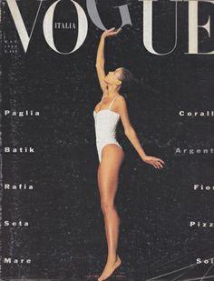 #Vogue #Italia #Cover Maggio 1989
