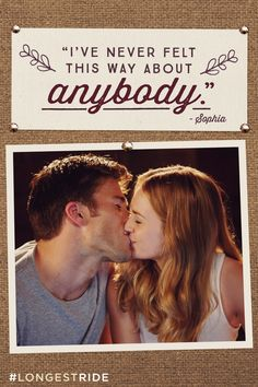 Fireworks from the very first kiss. See Scott Eastwood and Britt Robertson in The Longest Ride, in theaters The Longest Ride Quotes, The Longest Ride Movie, Britt Robertson, Scott Eastwood, Tv Quotes, Movie Quotes, Crush Quotes, Lyric Quotes, Romantic Movies