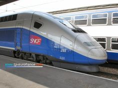 TGV Duplex, double-decker made by Alsthom - FRANCE