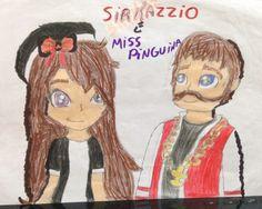 SirKazzio e Miss Pinguina , não liguem para o branquinho atrás do nome do SirKazzio , ; 3